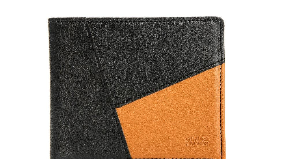 Woody - Brown Vegan Leather Wallet
