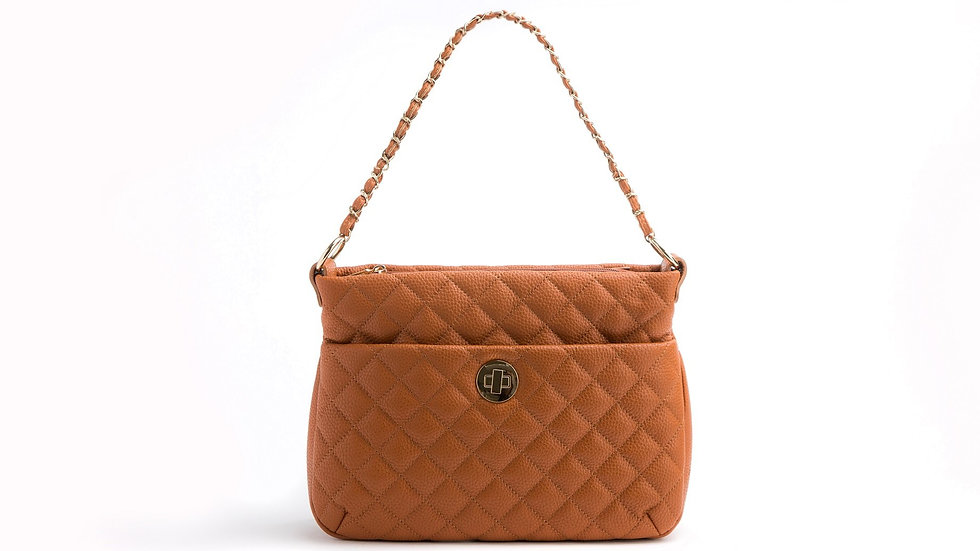 Koi - Tan Vegan Leather Bag