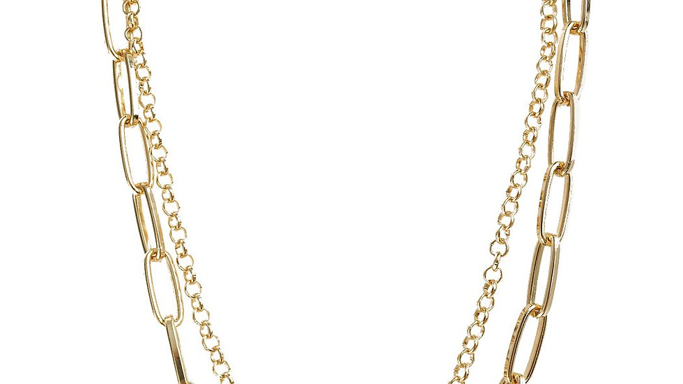 Multiline Chain Necklace