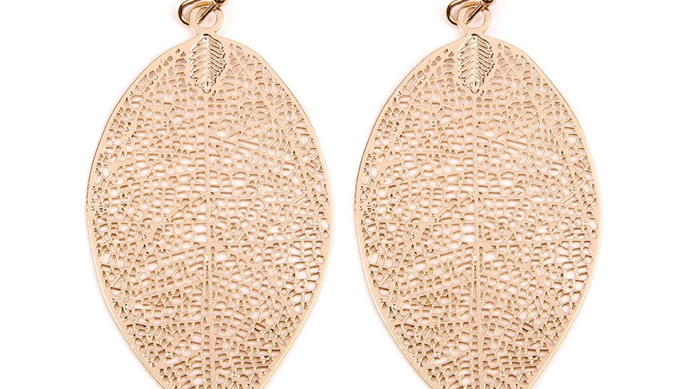 Leaf Filigree Earrings
