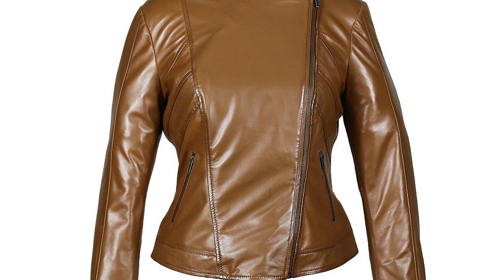 Women's Regular Leather Jacket