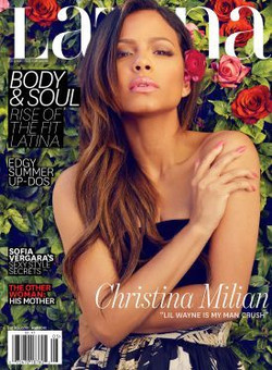Latina.com May 2015 Cover Page