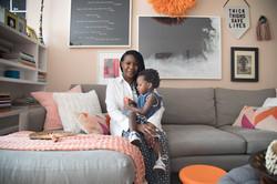 HARLEM HOME - Living Room - Art Gallery Wall