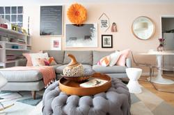 HARLEM HOME - Living Room - View of sofa