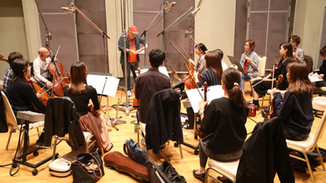 "Recording session for TV animation ""Colorful Pastorale""カラフルパストラーレレコーディング"