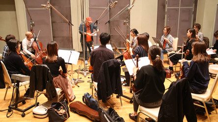 "Recording session for TV animation ""Colorful Pastorale""カラフルパストラーレレコーディング"