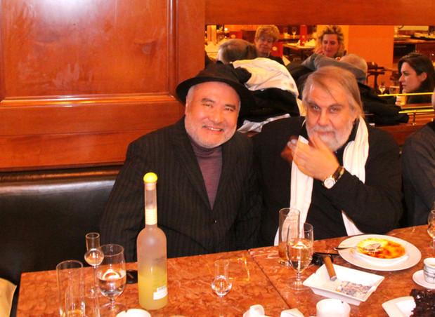 With Mr. Vangelis/ヴァンゲリス氏と