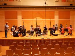 Strings Recording at Saitama art hall