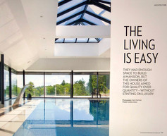 Homes & Interiors - The Living is Easy