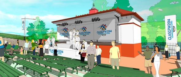 Bandstand & Amphitheatre
