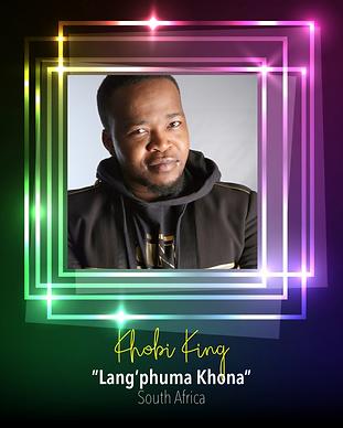 AfriMusic_2020_South  Africa_Khobi King.