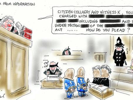 Stop the prosecution of Bernard Collaery & Witness K