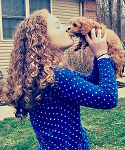 cavapoochon puppy kisses!