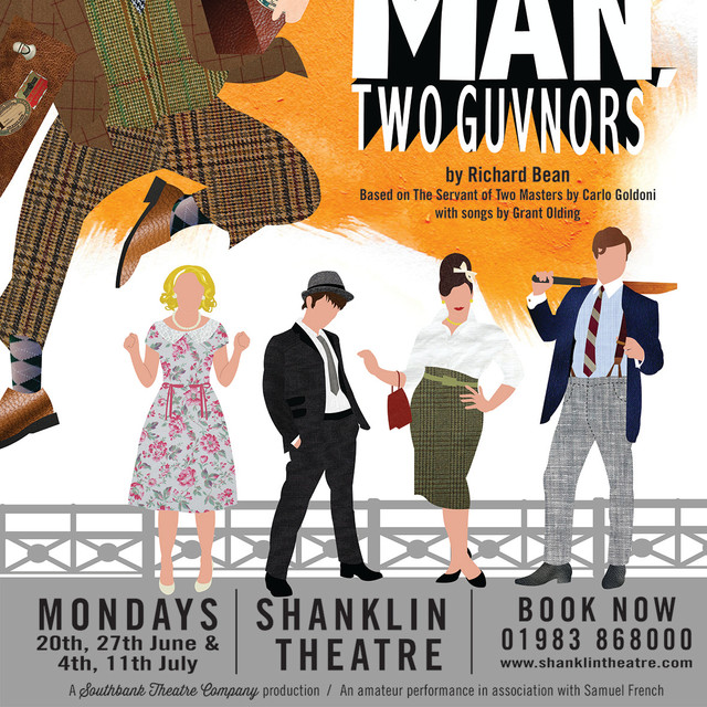 One Man Two Guvunors Poster