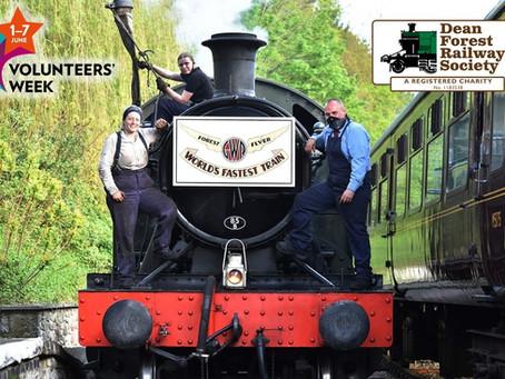 Volunteers - the lifeblood of the railway!