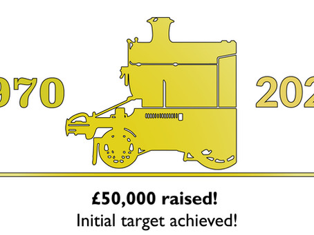 Emergency Fund hits initial £50,000 target, as efforts continue to ensure the DFR's future