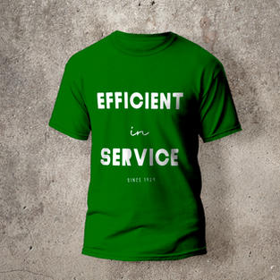 Efficient in Service T-shirt