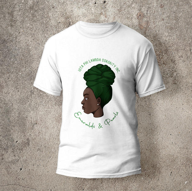 Emeralds and Pearls T-Shirt