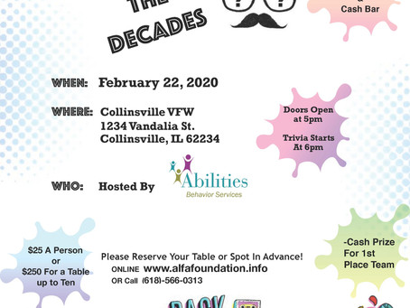 Abilities Host 2nd Annual Trivia Night At Collinsville VFW