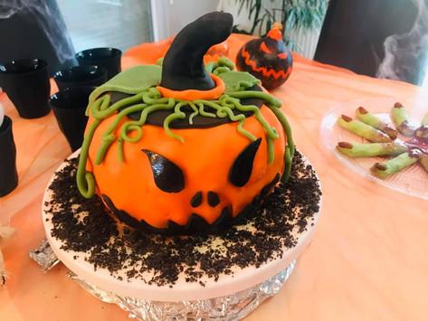 Un gâteau à faire peur !