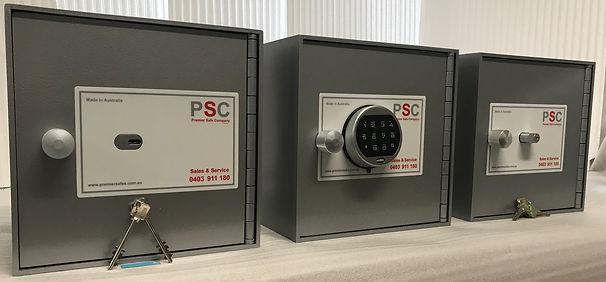 photo of range of safes