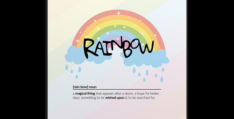 Rainbow Meaning פוסטר