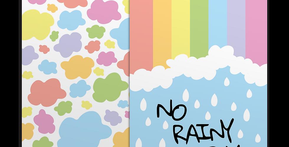 Rainy Days + Clouds מארז פוסטרים