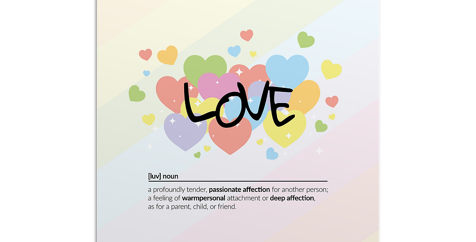 Love meaning פוסטר