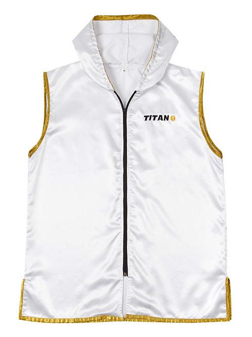 Ring Jacket - Polar White w/ gold