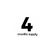 4 months supply icon