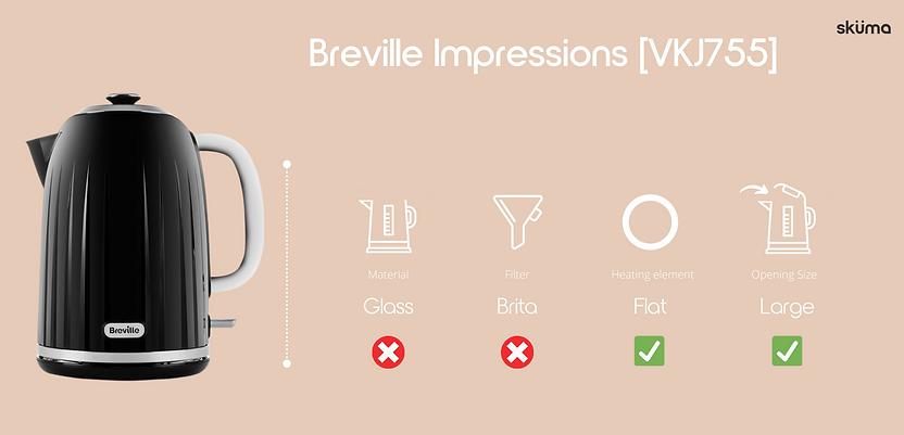 Breville kettle for hard water