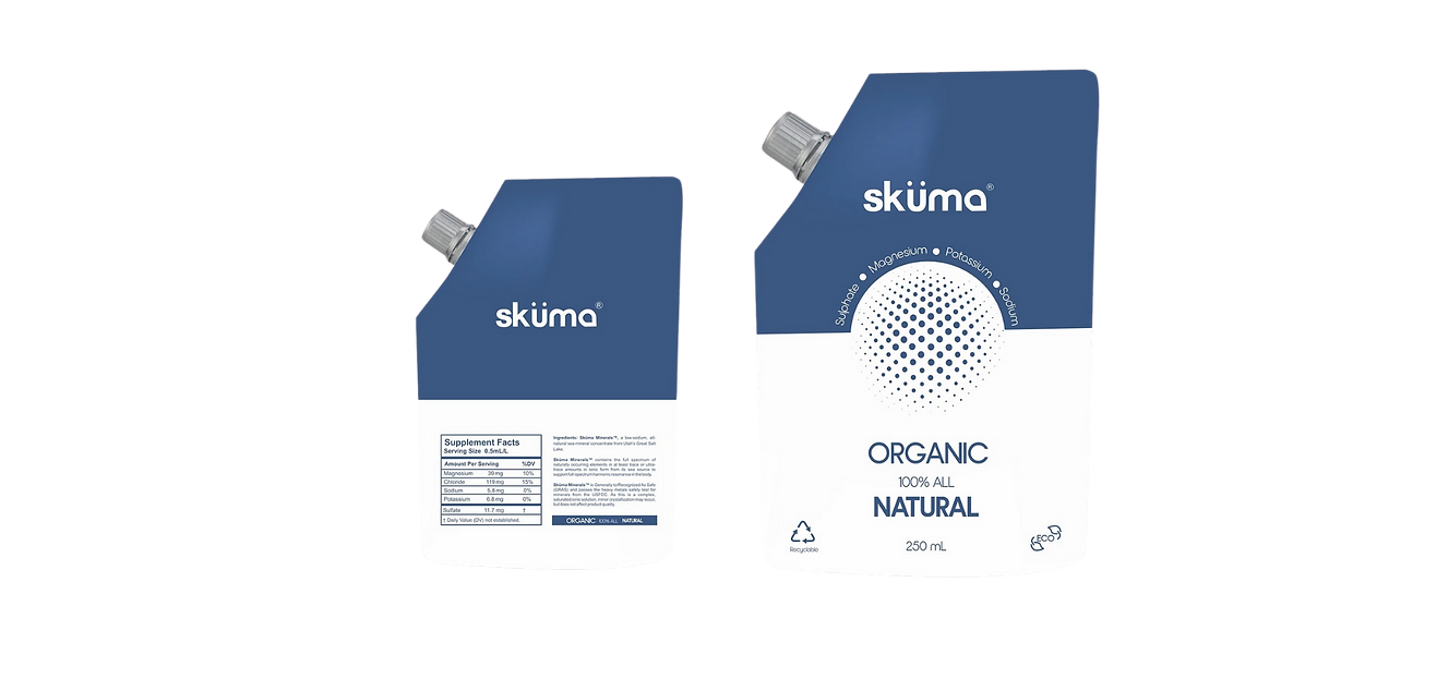 mineral water pouch - great salt lake mineral concentrate