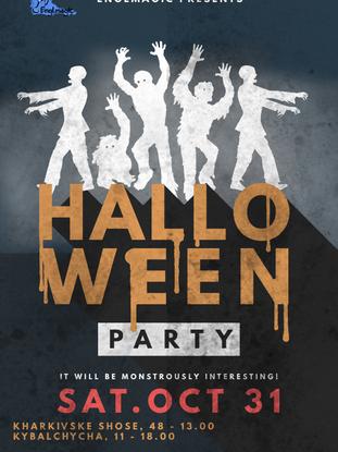 "English party ""Halloween 2020""!"