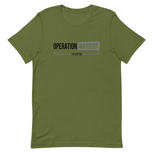 Operation Warrior Horse Unisex Tee