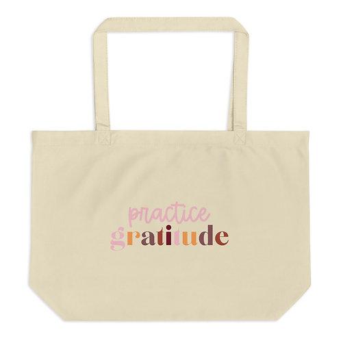 Gratitude Organic Tote Bag