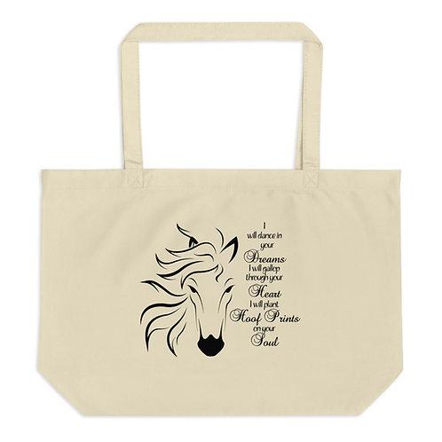 Hoofprints Organic Tote Bag