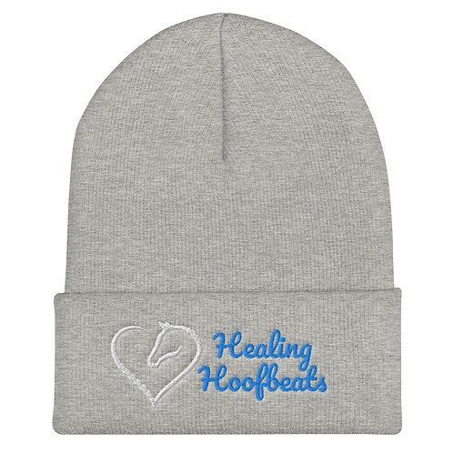 Healing Hoofbeats Cuffed Beanie