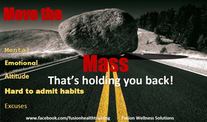 Monday Motivation- Move your mass