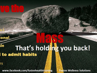 Monday Motivation- Move your mass