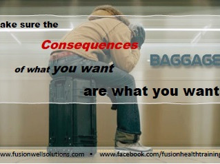 Monday Motivation - The Consequences We Carry