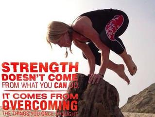 Monday Motivation - Overcoming
