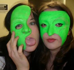 Backstage of Faustus 2009