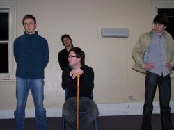 Faustus Rehearsals 2009
