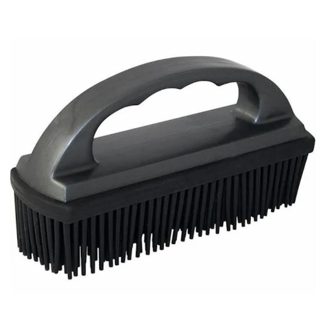 rubber brush for pet hair