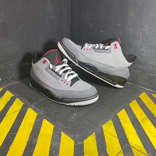 "Air Jordan 3 - ""Stealth"" (Sz 11)"