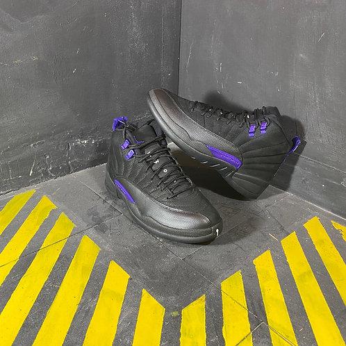 """Air Jordan 12 - """"Black Dark Concord"""" (Sz 9)"""
