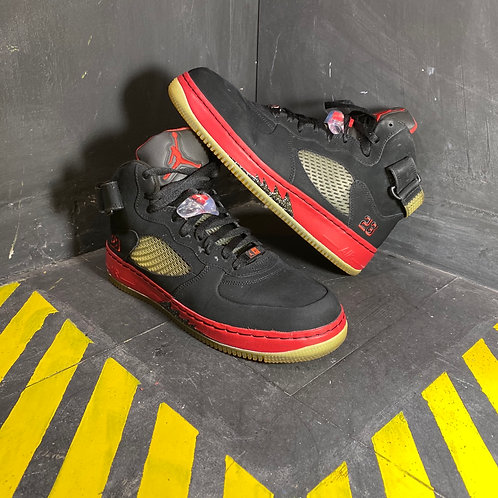 "Jordan 5 Retro Fusion - ""Bred"" (Sz 10.5)"