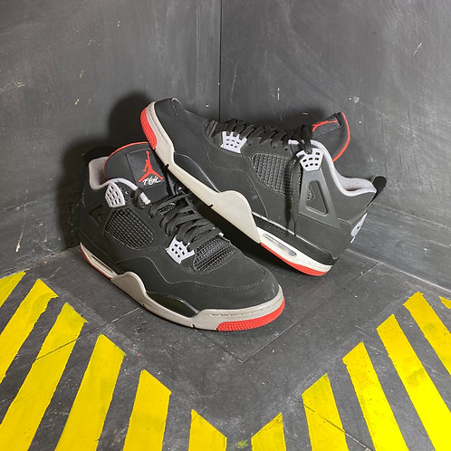 "Air Jordan 4 - ""Bred"" (Sz. 15)"