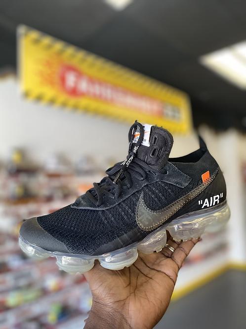 "The 10: Nike Air Vapormax Off-white - ""Black"" (Sz 9.5)"