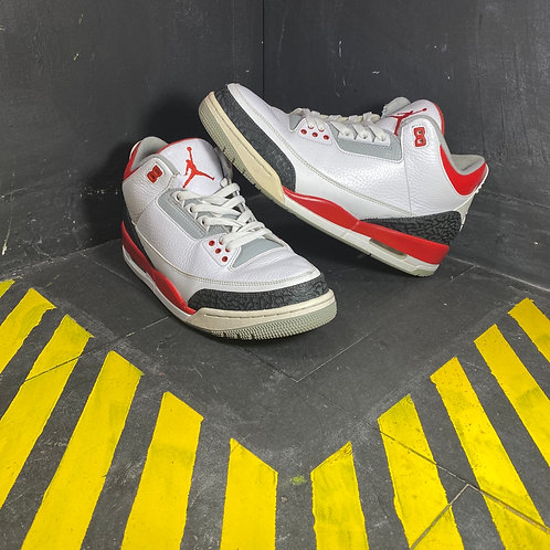 "Air Jordan 3 - ""Fire Red"" (Sz 11.5)"